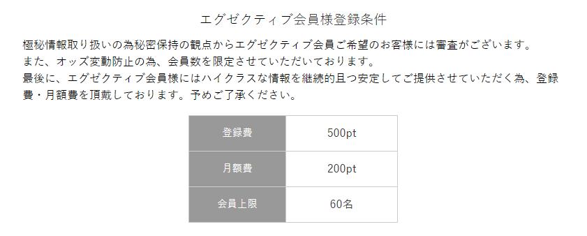 悪徳競艇予想サイト競艇ダイヤモンド(DIAMOND) エグゼクティブ会員登録審査