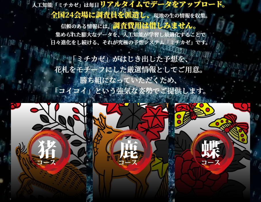悪徳競艇予想サイト花舟 非会員ページ