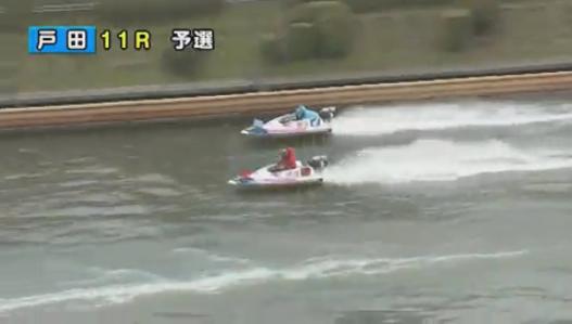 G1戸田プリムローズ開設63周年記念で桐生順平選手が転覆、途中帰郷へ