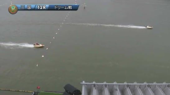 2019ヤングダービー三国競艇場 初日12Rドリーム戦1着は上條暢嵩選手