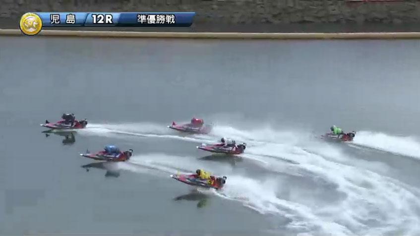2019年10月 児島競艇場SGボートレースダービー準優勝戦 1マークで石野貴之選手のまくりが炸裂!