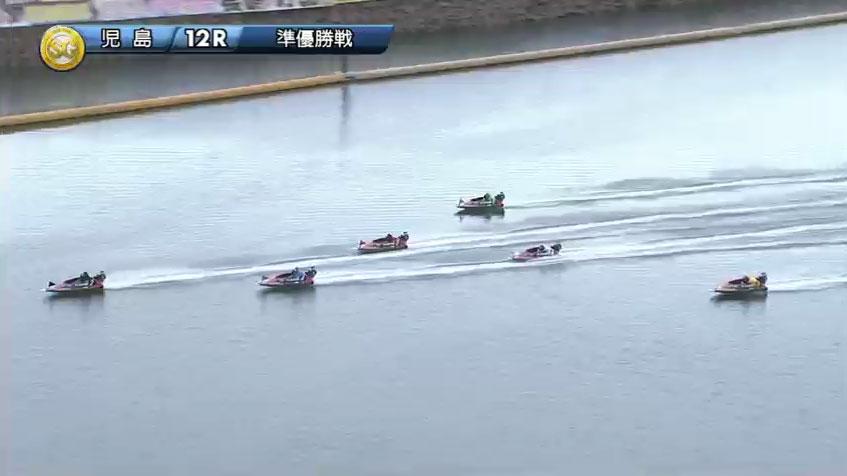 2019年10月 児島競艇場SGボートレースダービー準優勝戦 石野貴之選手、木下翔太選手が抜ける