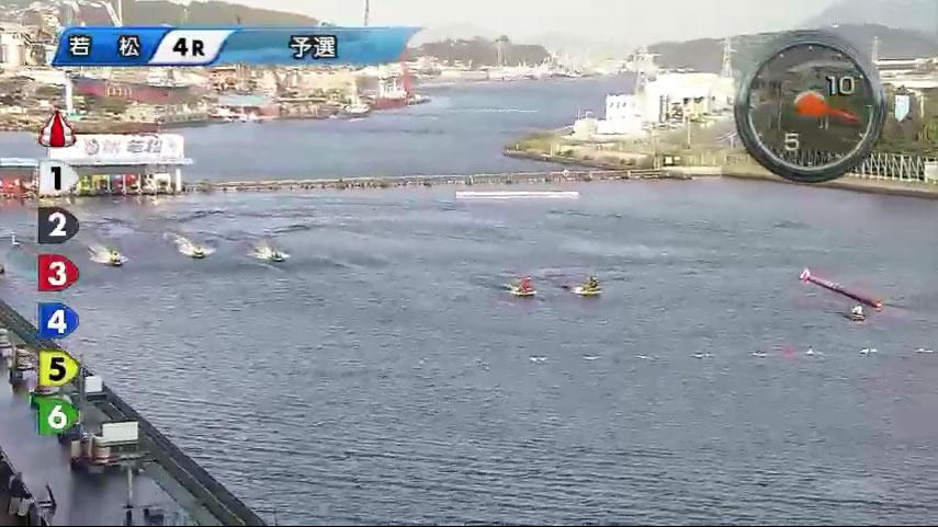 一般戦資さん杯4Rで 林祐介選手が妨害失格、3艇が転覆 スタートは枠なり ボートレース・競艇アクシデント・事故