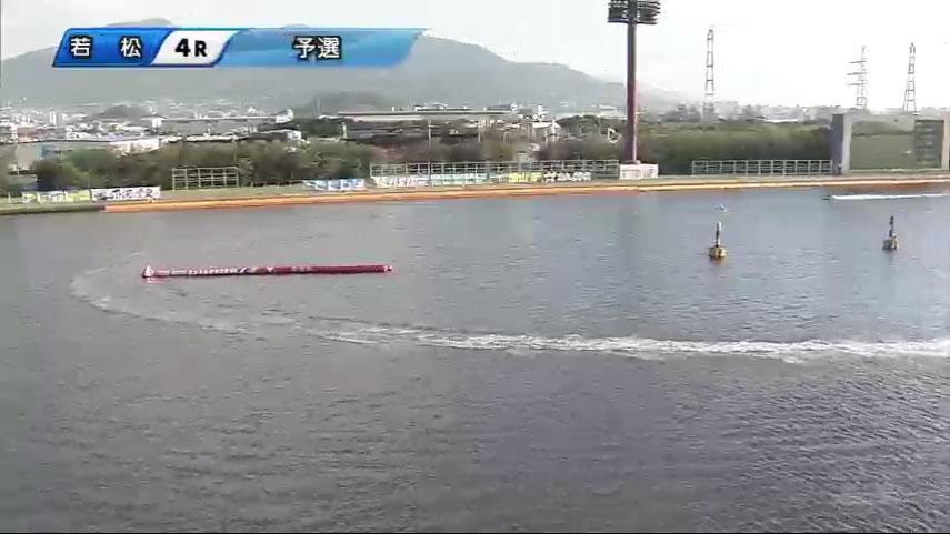 一般戦資さん杯4Rで 林祐介選手が妨害失格、3艇が転覆 5号艇と3号艇の差は半周ほど ボートレース・競艇アクシデント・事故