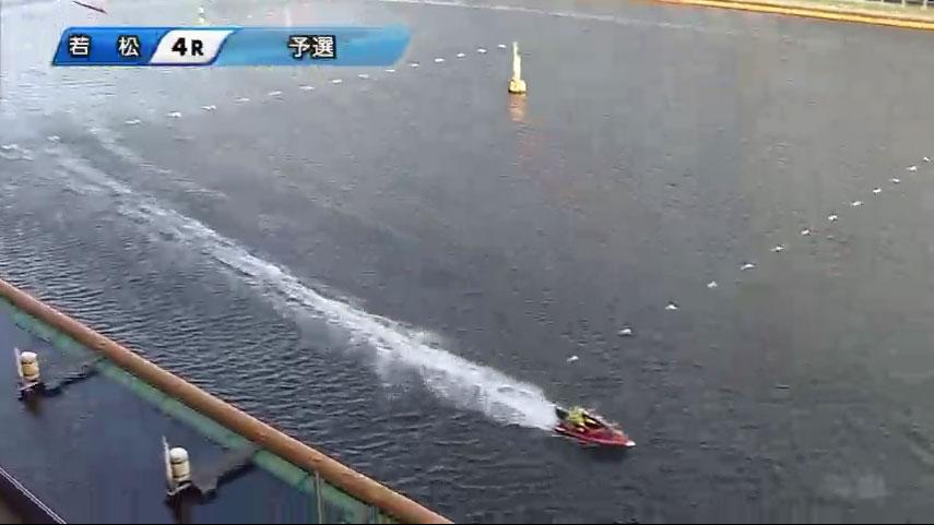 一般戦資さん杯4Rで 林祐介選手が妨害失格、3艇が転覆 5号艇一柳和孝選手ゴールイン ボートレース・競艇アクシデント・事故