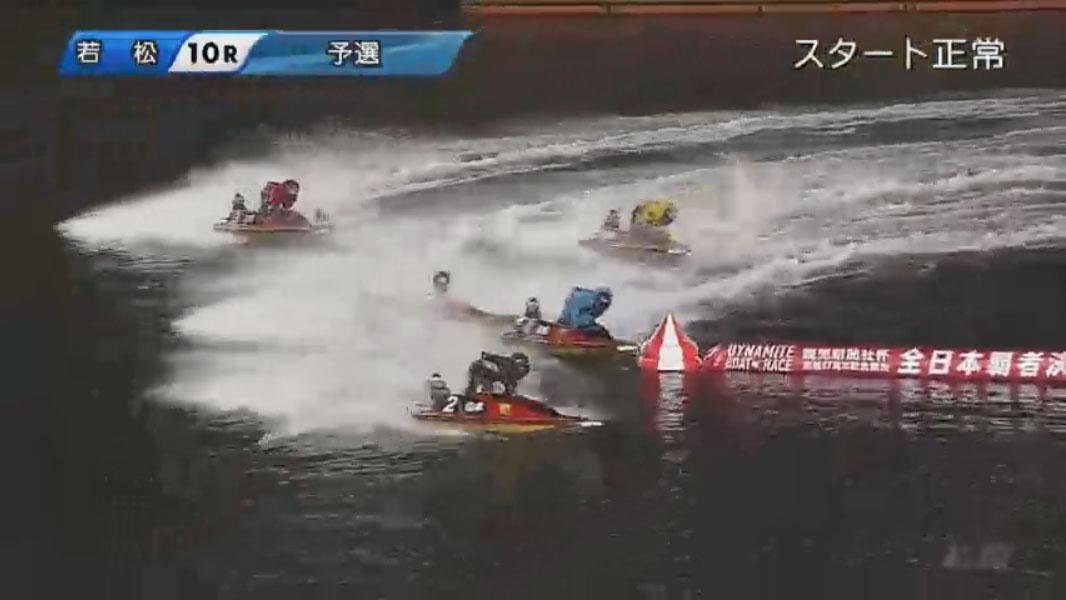 競艇アクシデント・事故 読売新聞社杯G1全日本覇者決定戦開設67周年記念3日目10R 問題の2マークへ ボートレース