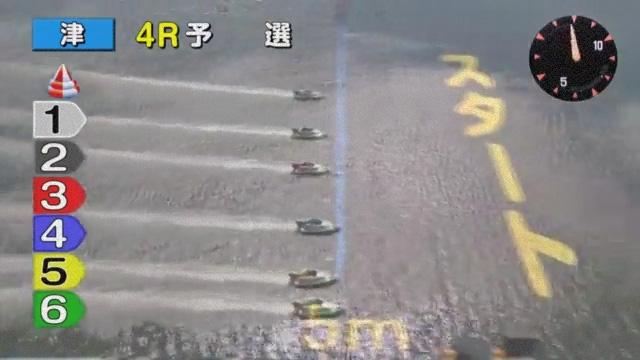 競艇選手 大阪支部のA1級田中信一郎選手がフライング ボートレース