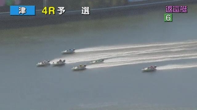 競艇選手 大阪支部のA1級田中信一郎選手がフライングしたのに、ハケずにレースを続けている ボートレース