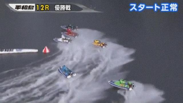 2019年第65回トーキョー・ベイ・カップ(平和島競艇場) 最終日12R優勝戦 1周1マーク