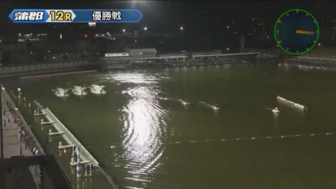 G1オールジャパン竹島特別開設64周年記念 優勝戦 進入は枠なり、3対3。 蒲郡競艇場(ボートレース蒲郡)