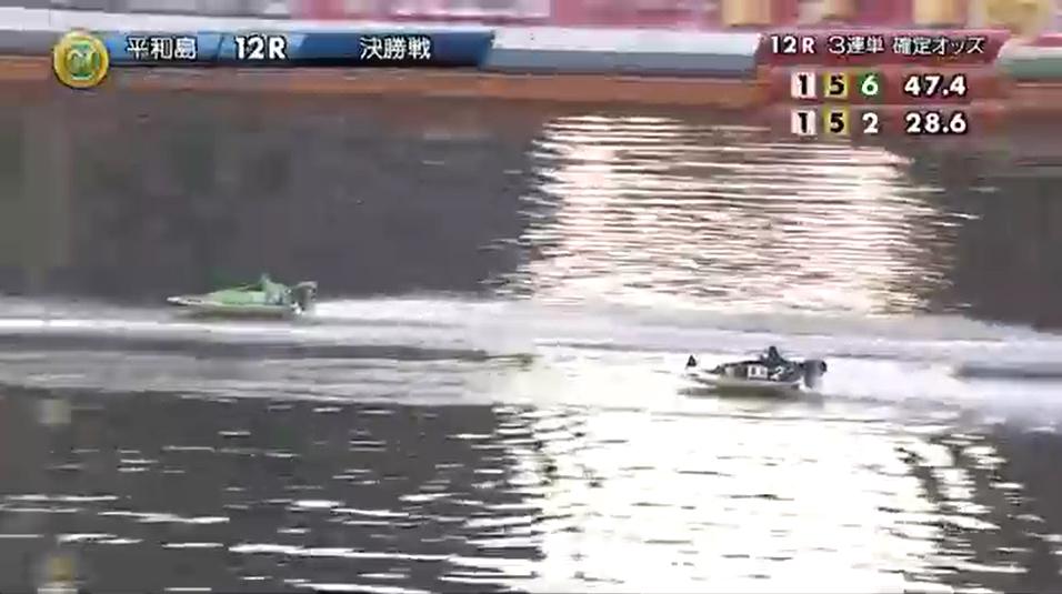PG1BBCトーナメント決勝戦 2周目へ入り、バックストレッチで吉川元浩選手引き離しにかかるも、2周2マークでまた迫る毒島誠選手