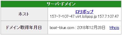 優良 ブルーオーシャン(BLUE OCEAN) 競艇予想サイトの口コミ検証や無料情報の予想結果も公開中 ドメイン取得日