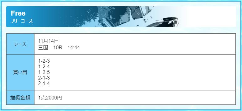 優良 フルスロットル(FULL THROTTLE) 競艇予想サイトの口コミ検証や無料情報の予想結果も公開中 無料情報11月14日買い目