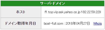 優良 フルスロットル(FULL THROTTLE) 競艇予想サイトの口コミ検証や無料情報の予想結果も公開中 ドメイン取得日は2018年04月27日