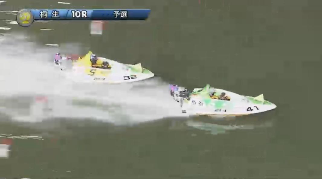 SGチャレンジカップ 3日目10R 最終周回へ 桐生競艇場