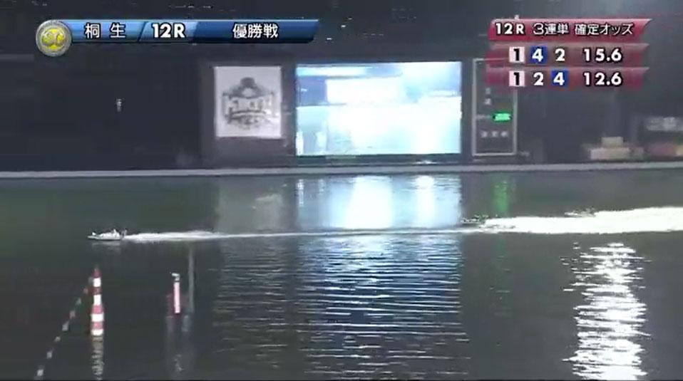 SG2019第22回桐生チャレンジカップ 優勝戦 石野選手が圧勝ムード 桐生競艇場