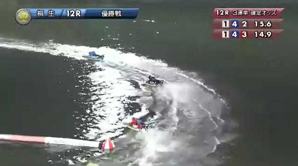 SG2019第22回桐生チャレンジカップ 優勝戦 最終ターンからのゴールイン 桐生競艇場