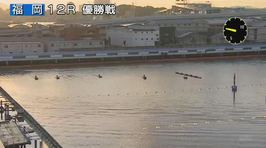 G1福岡チャンピオンカップ開設66周年記念競走優勝戦 進入は枠なり5対1