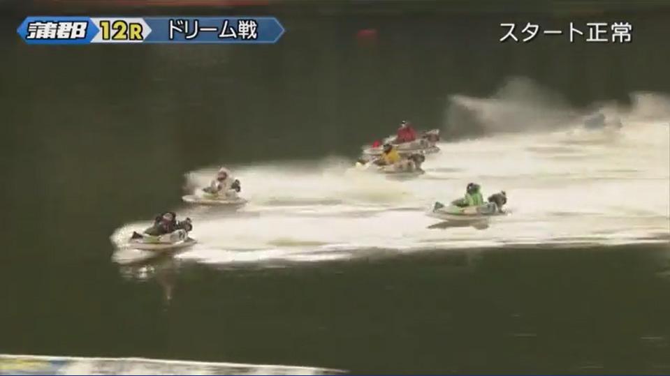 競艇 2019年G1オールジャパン竹島特別 開設64周年記念競走 初日ドリーム戦 1周2マークへ