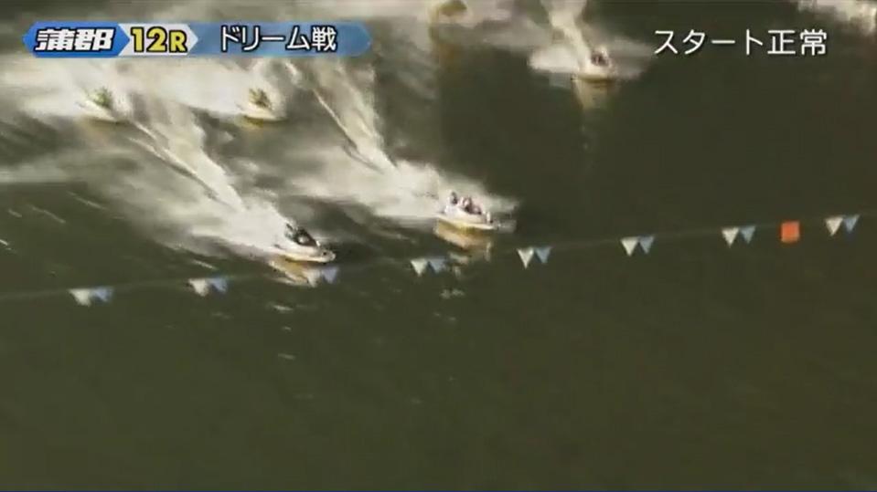 競艇 2019年G1オールジャパン竹島特別 開設64周年記念競走 初日ドリーム戦 1号艇2号艇が更に引き離す