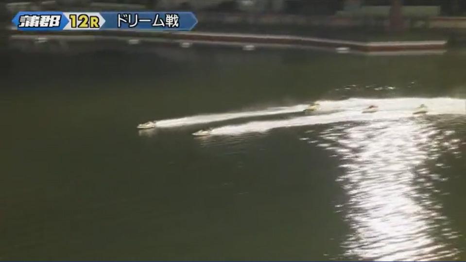 競艇 2019年G1オールジャパン竹島特別 開設64周年記念競走 初日ドリーム戦 2周目直線でも師弟の攻防が