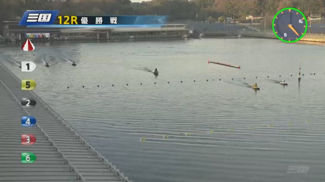 G1 北陸艇王決戦 優勝戦 進入は3対3