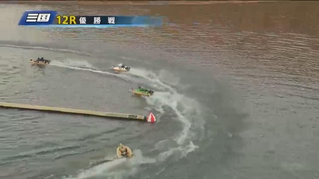G1 北陸艇王決戦 優勝戦 逃げる赤岩善生選手
