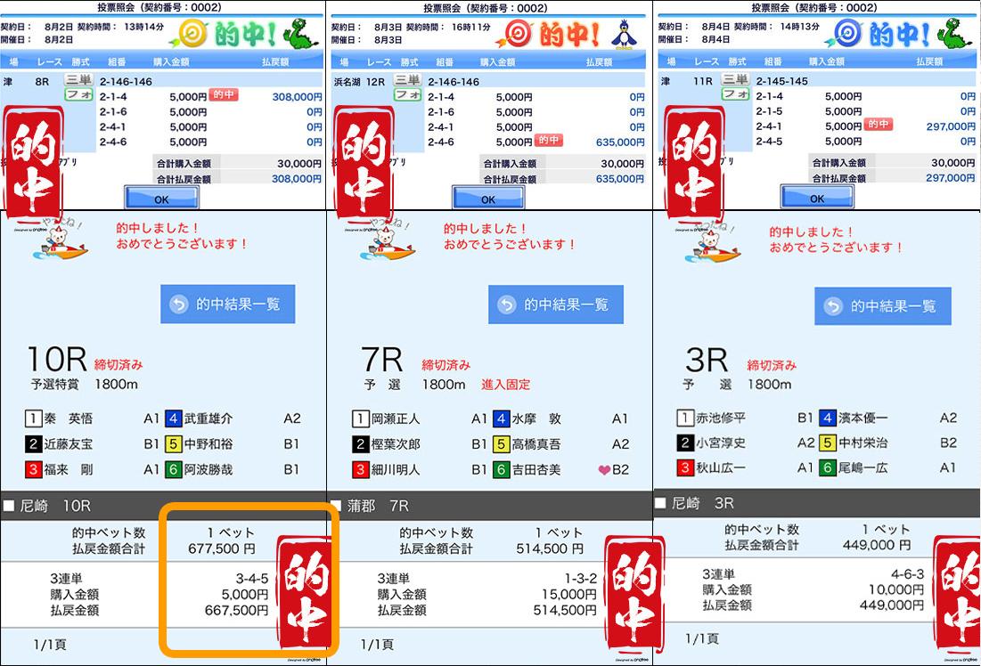 悪徳 強艇-KYOTEI-(きょうてい) 競艇予想サイトの口コミ検証や無料情報の予想結果も公開中 「速獲プラン」100万円の的中実績