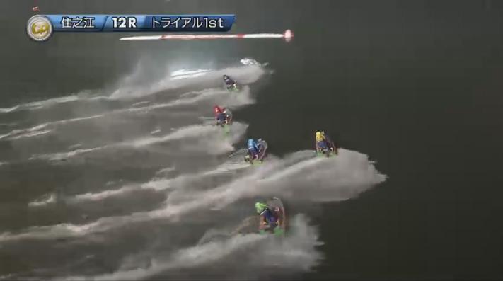 2019年グランプリ(賞金王決定戦)初日トライアル1st 12R アクシデント振り返り ナイター 住之江競艇場
