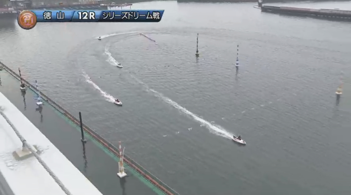 2019年競艇 第8回クイーンズクライマックス ドリーム戦 最終2マーク 徳山競艇場・ボートレース徳山