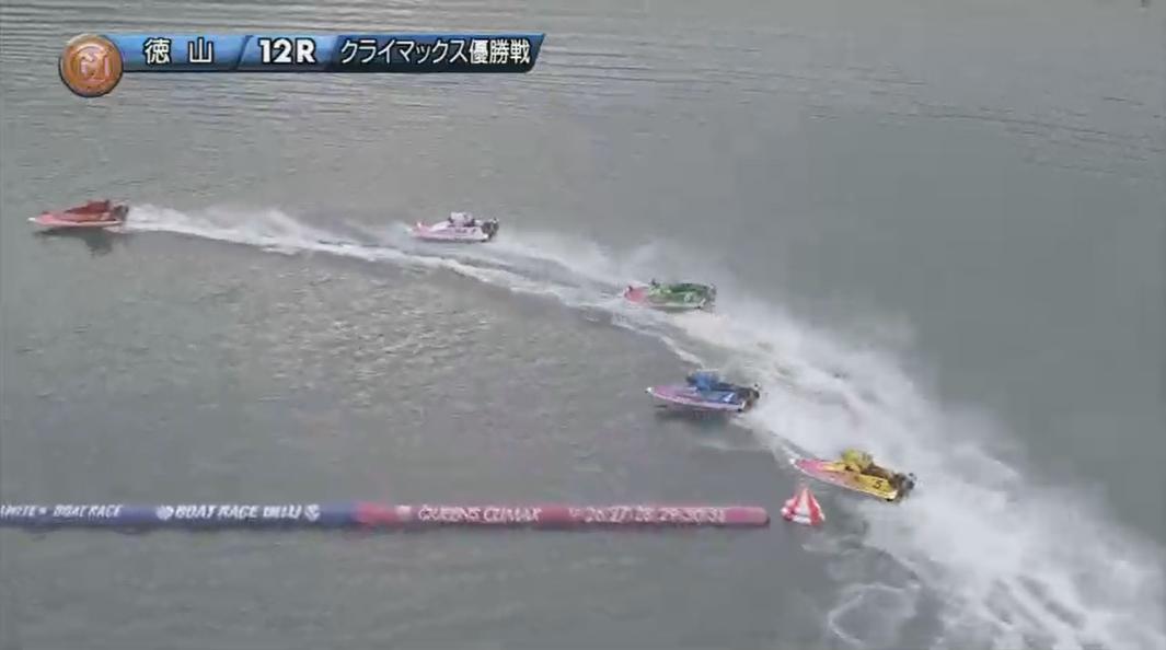 2019年競艇 第8回クイーンズクライマックス 優勝戦 3番手には寺田千恵選手 ボートレース徳山