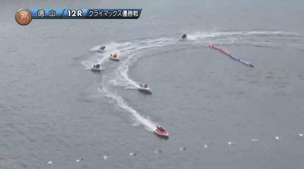 2019年競艇 第8回クイーンズクライマックス 優勝戦 1番手は今井美亜選手、2番手は遠藤エミ選手 ボートレース徳山