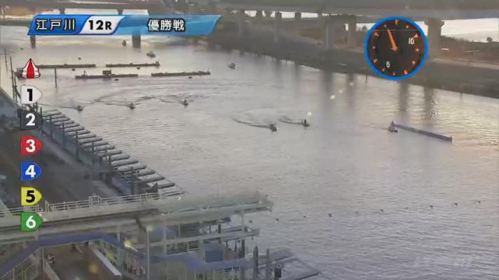 競艇G3オールレディース江戸川 KIRINCUP優勝戦 進入は枠なり。123/456。 ボートレース江戸川