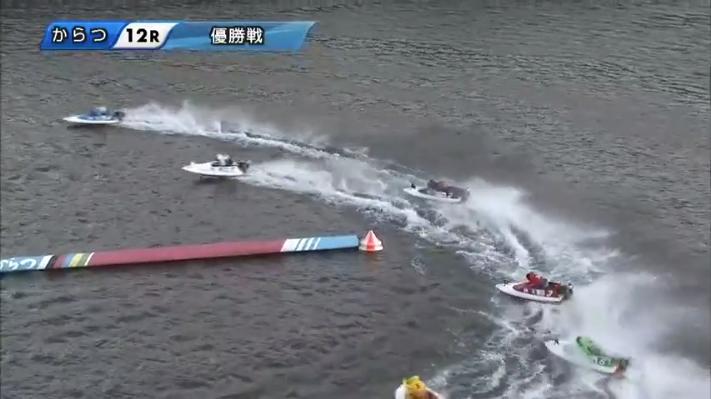 2020年G1からつ周年「全日本王者決定戦」優勝戦 井口佳典選手が2番手、白井英治選手が3番手 唐津競艇場・ボートレース