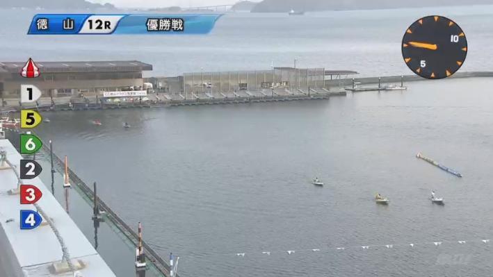 2020年初G1 徳山周年「徳山クラウン争奪戦」優勝戦 本番の進入は156/234 ボートレース徳山・競艇