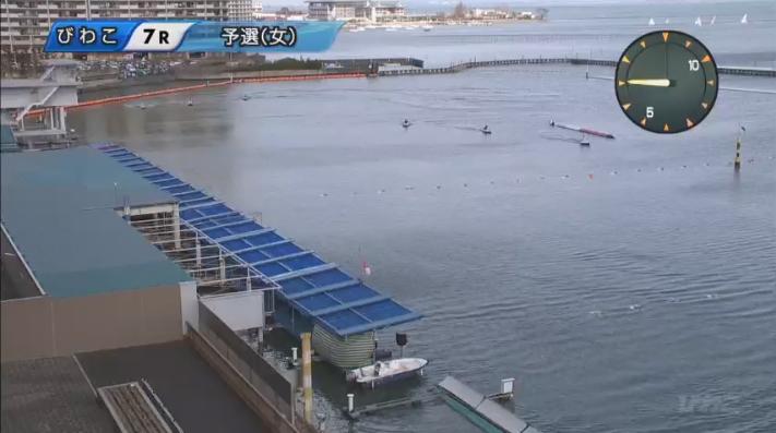 2020年2月23日一般戦「男女W優勝戦e−radioLAKESIDECUP」7Rで西岡成美選手がデビュー初勝利!ボートレースびわこ・競艇