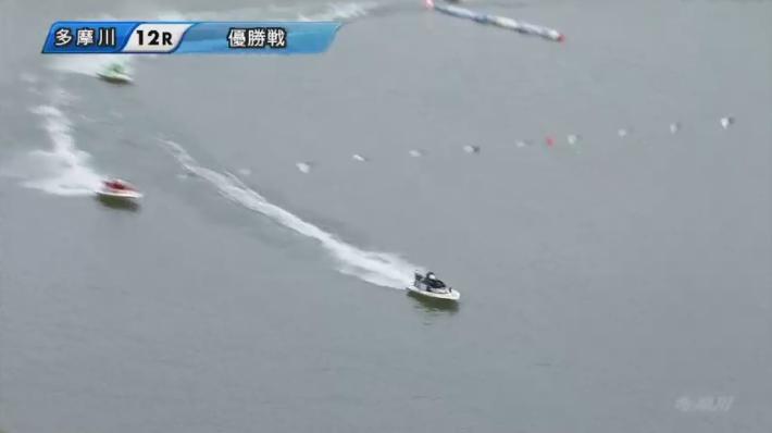 【競艇G1】2020年ウェイキーカップ優勝戦 上位隊形は変わらないまま最終周回へ トップは菊地孝平選手 ボートレース多摩川