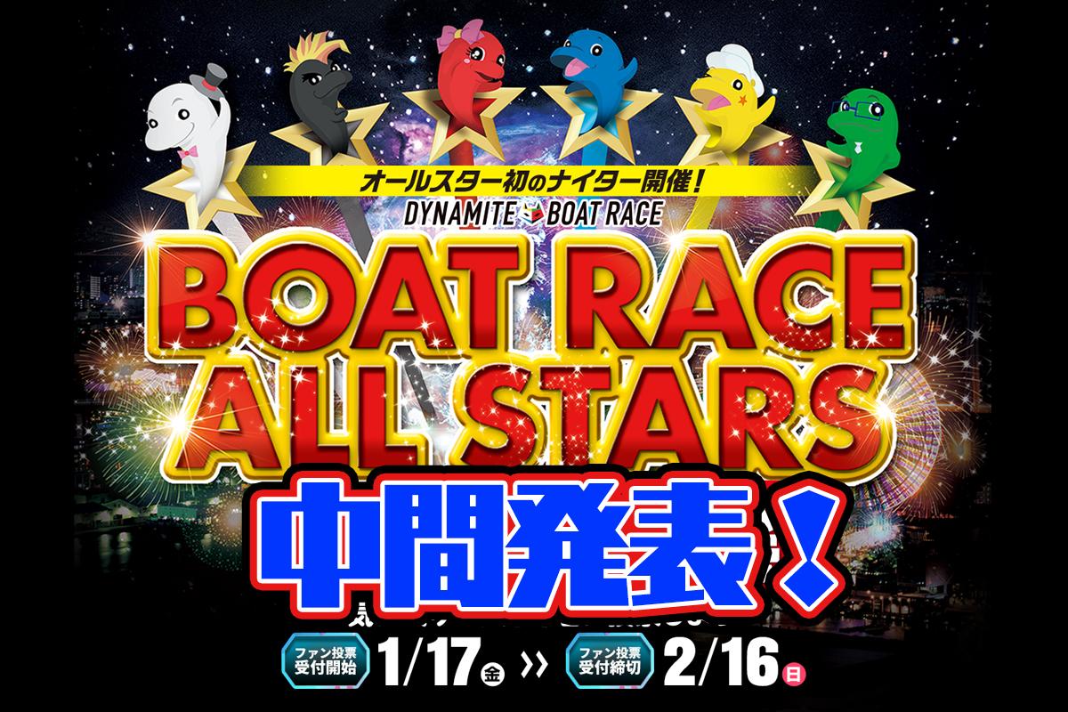 【競艇SG】第47回ボートレースオールスター ファン投票 ボートレース住之江