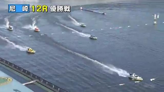 競艇G12020近畿地区選手権競走優勝は太田和美選手 優勝戦 稲田浩二選手がバタついて順位を落とす ボートレース尼崎