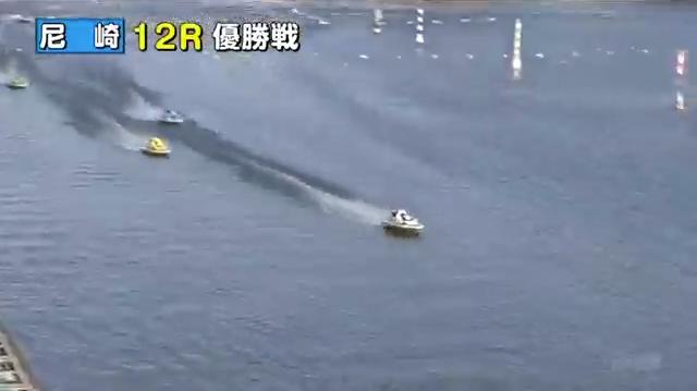 競艇G12020近畿地区選手権競走優勝は太田和美選手 優勝戦 上位隊形1-5-4のまま最終周回へ ボートレース尼崎