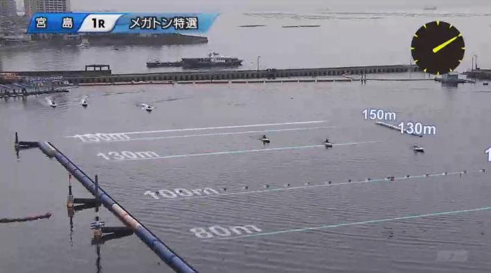 2020宮島「ヘビー級王決定戦」メガトン特選 進入は枠なり。123/456。 宮島競艇場・ボートレース