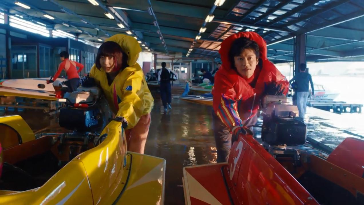 2020ボートレースCM『ハートに炎を。BOAT is HEART』第3話「性別は関係ない」武田玲奈・田中圭・競艇CM