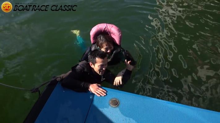2020年3月20日SGボートレースクラシック4日目1Rで今井美亜選手がSG初勝利!水神祭で一緒に落とされる西山貴浩選手 ボートレース平和島・競艇