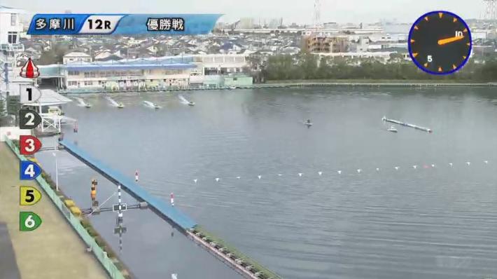【競艇ルーキーシリーズ】多摩川優勝は永井彪也選手!優勝戦 進入は12/3456。 ボートレース多摩川