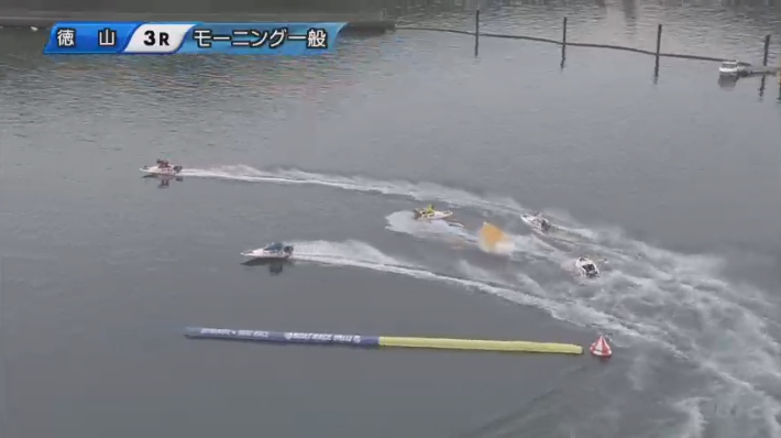【競艇アクシデント・事故】金子良昭選手はその後航走を再開 ボートレース徳山・競艇選手