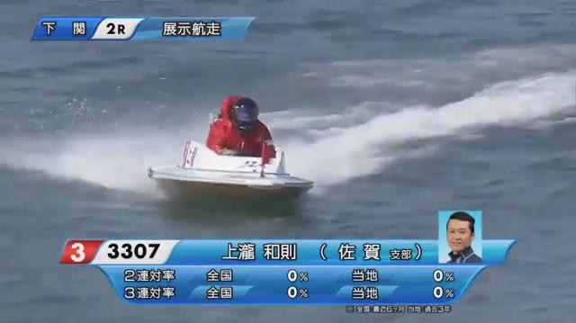 2020年5月上瀧和則選手の復帰戦・周回展示01 ご子息の上瀧絢也選手もデビュー。ボートレース下関・競艇