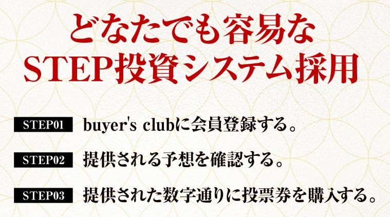 悪徳 バイヤーズクラブ(Buyer's club) 競艇予想サイトの口コミ検証や無料情報の予想結果も公開中 どなたでも容易なSTEP投資システム採用