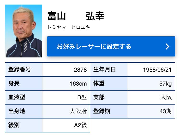 競艇選手 山口支部の今村豊選手はボートレーサー界のレジェンド 富山弘幸選手