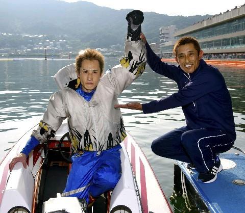 今村豊選手の弟子 3897白井英治選手 ボートレーサー 山口支部