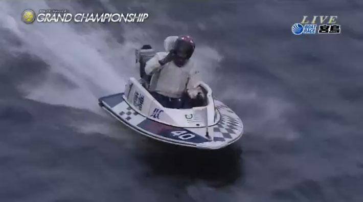 【SGグランドチャンピオン】徳増秀樹選手が悲願のSG初制覇!ウィニングラン 「濃く行きます」ボートレース宮島・競艇